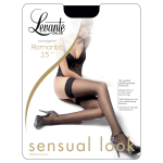 Levante Tights Woman Romantic 15 DEN Pantyhose Stockings Lace top