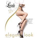 Levante Tights Woman - Every Pantyhose 20 DEN Sheer to waist - Flat seams